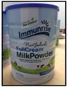 new   zealand   milk  powder_Immunrise Whole  Milk  Powder 800g
