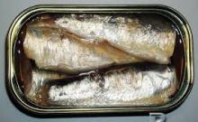 Canned Sardine Fish in Vegetable Oil, Tomato Sauce & Brine