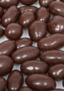 Chocolate coated peanut