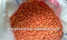 Chinese Grade A frozen carrot diced(10*10)