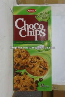 Confectionery,Chocolate chips cookies with coconut 144g