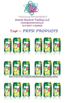 Refreshing 7Up (Pepsi Products)