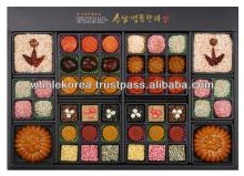 Traditional  Korean  crackers / Gift set /  Rice  cake /  Korean  traditional  sweet s and cookies