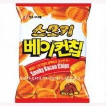 Korean Old Snack Smoky baconchip 46g
