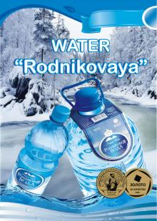 NATURAL MINERAL SPRING WATER OF HIGH STANDART