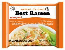 Top ramen brand chicken flavor instant noodle