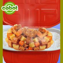 ready pork meal rice products foods