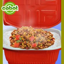 Good Taste Parboiled Rice With Price Halal Chicken Self-heating Meal