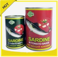 chinese type of canned fish foods products