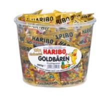 HARIBO jelly minis in jar 800g