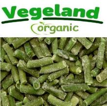 Organic Frozen IQF Yellow Bean