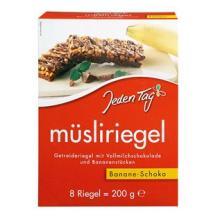 Jeden Tag  Muesli   Bar s Chocolate 200g.