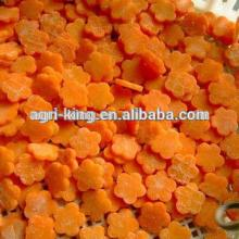 2014 new hot sale high quality chinese frozen carrot and sliced carrot
