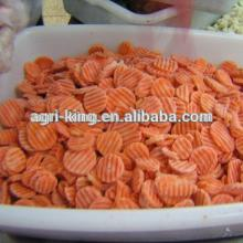 2014 new hot sale high quality chinese frozen carrot and frozen sliced carrots
