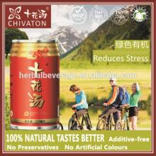 CHIVATON new natural non carbonated healthy function herbal  tea   market