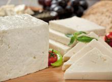 White Soft Feta Cheese