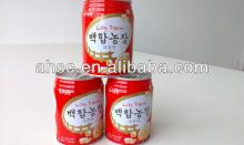 lily and Chinese red dates 245ml can soft drink