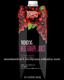 UFC 100% RED GRAPE JUICE