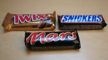 MARS TWIX SNICKERS CHOCOLATE BAR