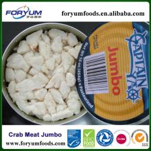 Frozen Pasteurized Canned Crab Meat Jumbo