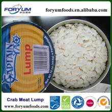 Frozen Pasteurized Canned Fancy Crab Meat Lump
