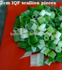 IQF Green Onion with all certificates approved