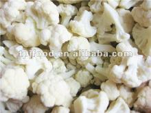iqf frozen cauliflower florets in high quality
