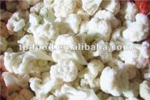 frozen cauliflower florets (iqf vegetables) in high quality
