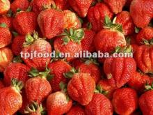 Hot Sell~ new and high quality Chinese IQF frozen sweet strawberry dices with KOSHER/FDA