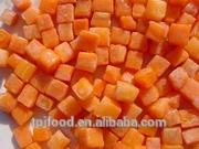 2014 hot selling IQF carrot dices 10mm