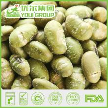 Roasted salt green soya bean