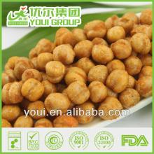 Hot Spicy Flavor Roasted Chickpeas