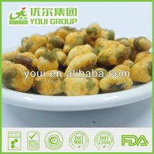 Hot sale China Spicy Edamame snacks with KOSHER certification