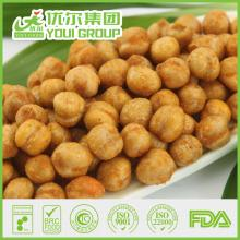 BRC/FDA/KOSHER/HACCP chickpea roasted with salted,wasabi,spicy,sriracha flavors