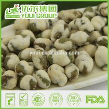 Nature healthy wasabi green soya beans