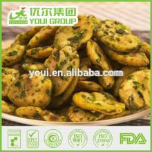 FDA certified seaweed flavor snacks,  fried   broad   bean   chips