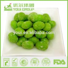 Wasabi   Coated   Peanuts  with OU Kosher/BRC/IFS/FDA certificate