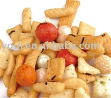 Rice Crackers mix and  Coated   Peanut s  SNACK S
