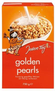 Jeden Tag breakfast Cereal Golden Pearl 750g
