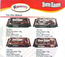 Tim Tam Biscuit