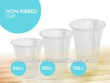 bubble tea plastic cups