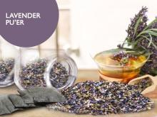 lavender pu'er tea