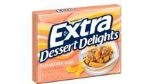 Wrigleys Extra Dessert Delights Peach Cobbler
