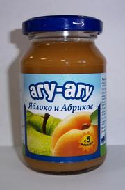 100g Apple and Apricot Fruit Puree with Vitamin C