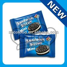 Sandwich biscuit Black biscuit cookies oreo biscuit center filling biscuit