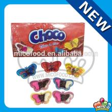 3 colors mini butterfly chocolate biscuit