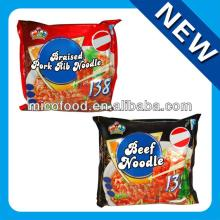 Instant noodle braised pork rib and beef flavor