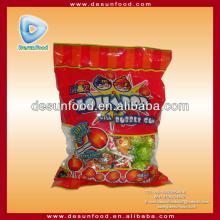 M&Z Lollipop candy with bubble gum