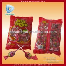 Big Bom Lollipop with gum filled