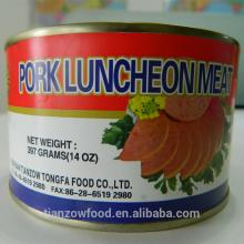 Nice Flavor 397g Canned Pork Luncheon Meat in Round Tin